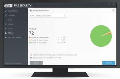 ESET File Security for Microsoft Azure képernyőkép