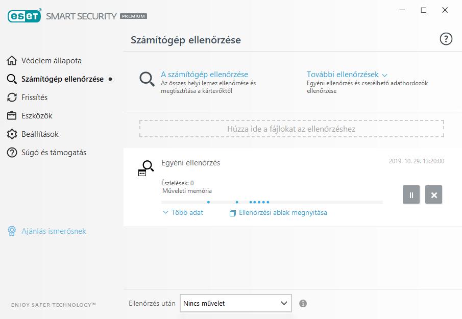ESET Smart Security Premium - Számítógép ellenőrzése