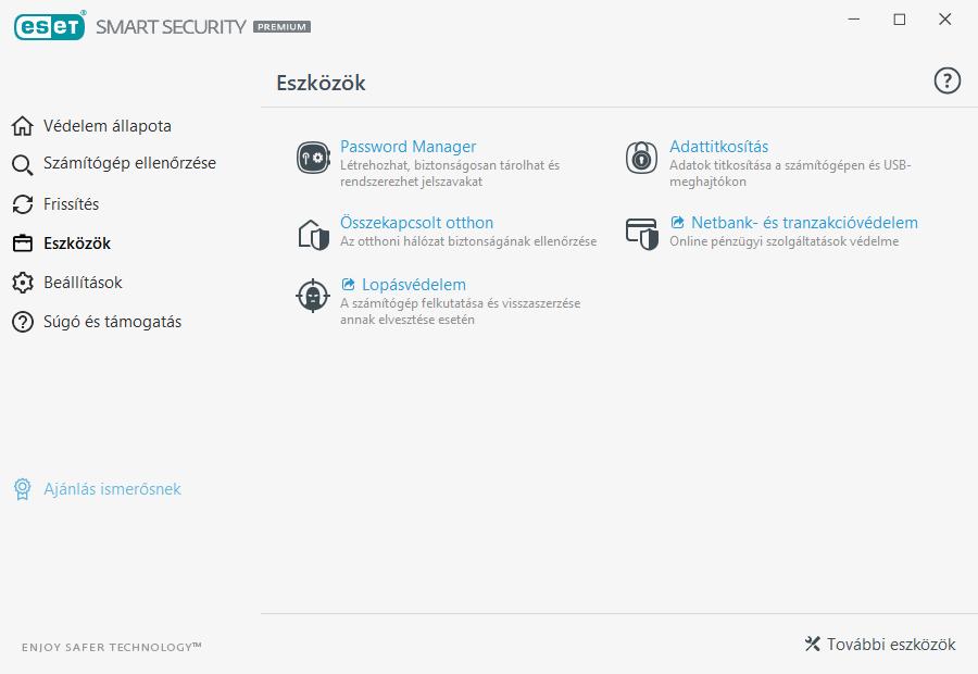 ESET Smart Security Premium - Eszközök