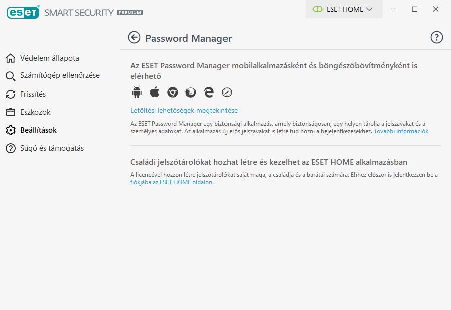 ESET Smart Security Premium - Jelszókezelő