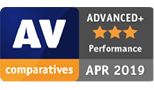 AV Comparative Award 2019