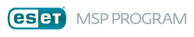 ESET MSP Program logo - grey
