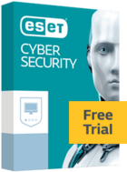 ESET Cyber Security Free Trial box