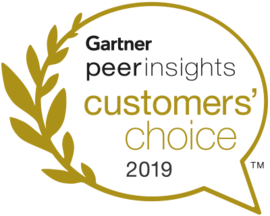 "ESET is one of the 2019 Customers' Choices on Gartner Peer Insights ""Voice of the Customer"""