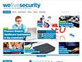 WeLiveSecurity printscreen